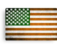 Irish American 015 Canvas Print