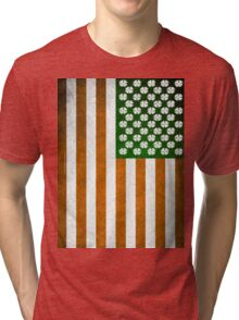 Irish American 015 Tri-blend T-Shirt