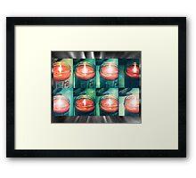 lomo-votive Framed Print