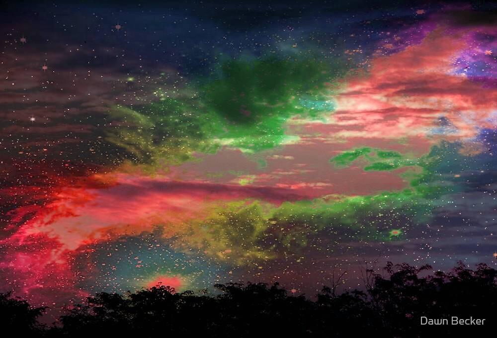 Alien Sky © by Dawn M. Becker