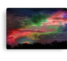 Alien Sky © Canvas Print