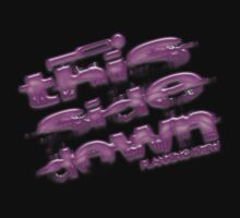 this side down - planking krew - Pink Bubble font by avdesigns