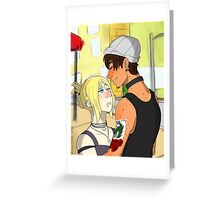 Marco and Annie Greeting Card