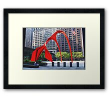 The Flamingo Framed Print