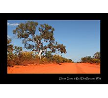 ''Ghost Gums & Red Dirt'' Photographic Print