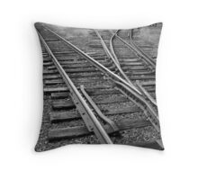 Lines Converge Throw Pillow