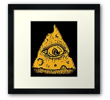 In Cheese We Trust Framed Print