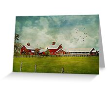 Another Day on the Farm Greeting Card