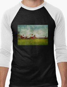 Another Day on the Farm Men's Baseball ¾ T-Shirt