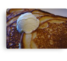 Buttermilk Pancakes Canvas Print