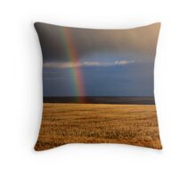 Gold...at the end of the Rainbow Throw Pillow
