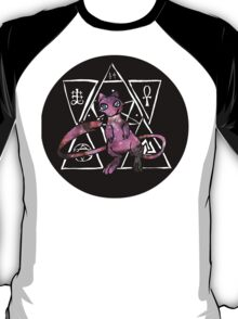 light occult mew (black bubble) T-Shirt