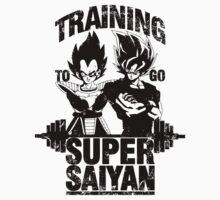 Training to go super saiyan - Vintage Kids Clothes