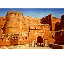 Entrance to The Red Fort - Agra Photographic Print