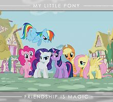 Friendship is Magic - Group Photo by Strangetalk
