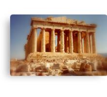 The Parthenon at the Acropolis Canvas Print