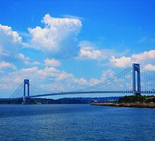 The Verrazano Narrows Bridge by Mistyarts
