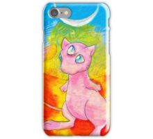 pastel psychic cat iPhone Case/Skin