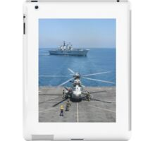 RAS WITH 820 SQUADRON iPad Case/Skin