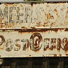 Post Office Sign by IndigoBleue