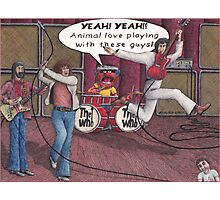 Animal Joins The Who Photographic Print