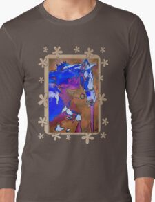 My Little Pony (Blue and Brown) Long Sleeve T-Shirt