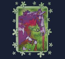 My Little Pony (Purple and Green) One Piece - Short Sleeve
