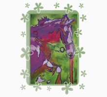 My Little Pony (Purple and Green) by ArtToWear