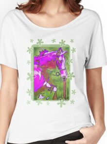 My Little Pony (Purple and Green) Women's Relaxed Fit T-Shirt