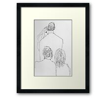 "''I DO"" Framed Print"