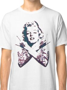 Punk Marilyn Classic T-Shirt