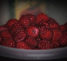 Raspberries by Jonice