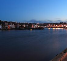 WHITBY BY LIGHTS by andysax