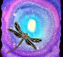 Cosmic Dragonfly by Linda Callaghan