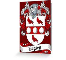 Begley (Bagley) Greeting Card