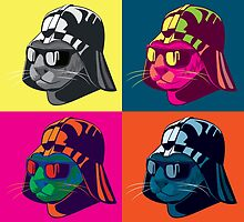 Darth Kitty Pop by Duncan Maclean