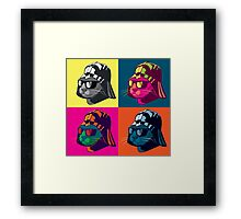 Darth Kitty Pop Framed Print