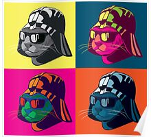 Darth Kitty Pop Poster