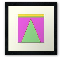 LEA NICHOLS FASHION DESIGN Framed Print
