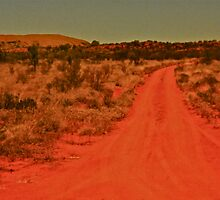 *Back Road Out Of Coober Pedy* by Ronald Rockman