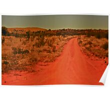 *Back Road Out Of Coober Pedy* Poster