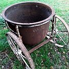 Old Water Cart by waxyfrog