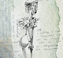 looking through the old sketchbook again... by Marianna Tankelevich