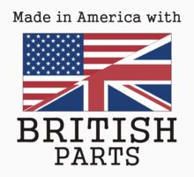 Made In America With British Parts Kids Clothes