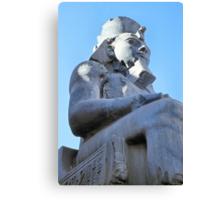 Ramses II Sculpture, Luxor, Egypt  Canvas Print