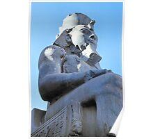 Ramses II Sculpture, Luxor, Egypt  Poster