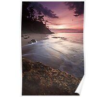 Boronia Beach Sunrise Poster