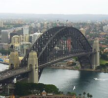 Sydney Harbour Bridge - the square view by DashTravels