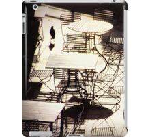 empty cafe iPad Case/Skin