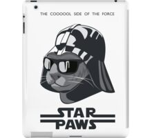 Darth Kitty - Classic grey iPad Case/Skin